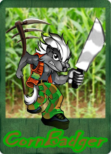 Bitcorn Crops - CORNBADGER
