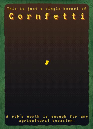 Bitcorn Crops - CORNFETTI