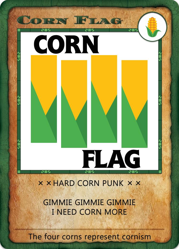 Bitcorn Crops - CORNFLAG
