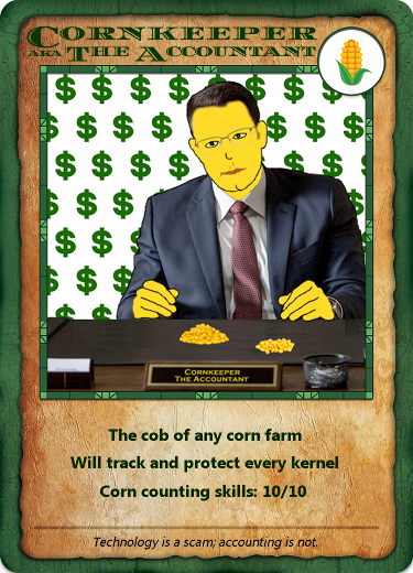 Bitcorn Crops - CORNKEEPER