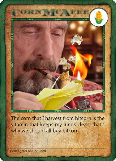 Bitcorn Crops - CORNMCAFEE