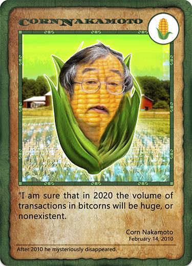 Bitcorn Crops - CORNNAKAMOTO