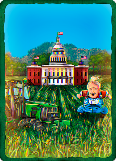 Bitcorn Crops - FARMWHITE