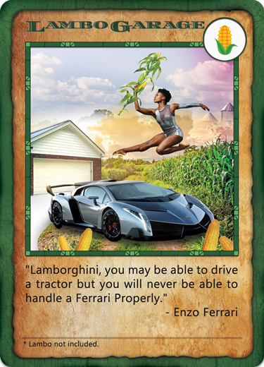 Bitcorn Crops - LAMBOGARAGE