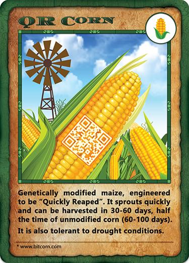 Bitcorn Crops - QRCORN