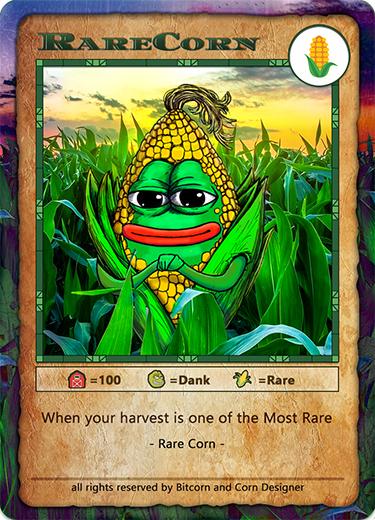 Bitcorn Crops - RARECORN