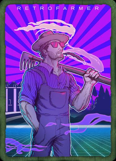 Bitcorn Crops - RETROFARMER