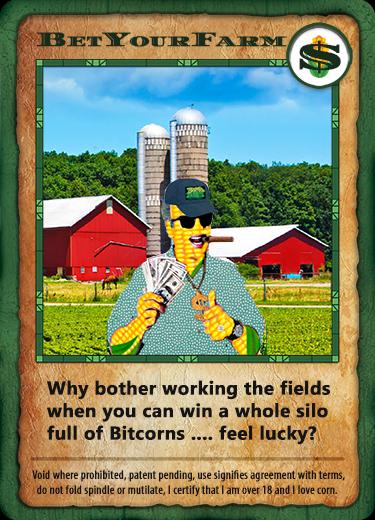 Bitcorn Crops - BETYOURFARM
