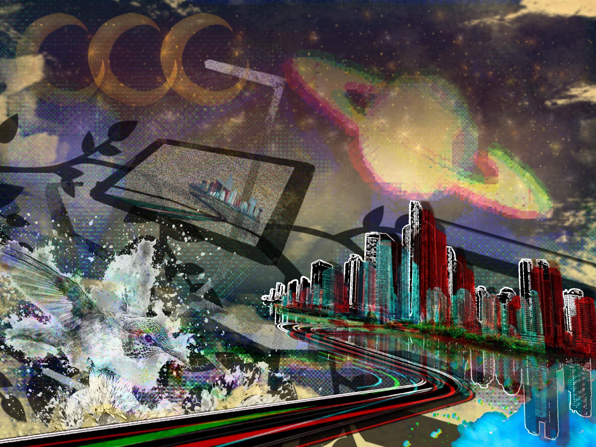 Freeport - I Will Take Five Please: energy flow spots in the metropolis.