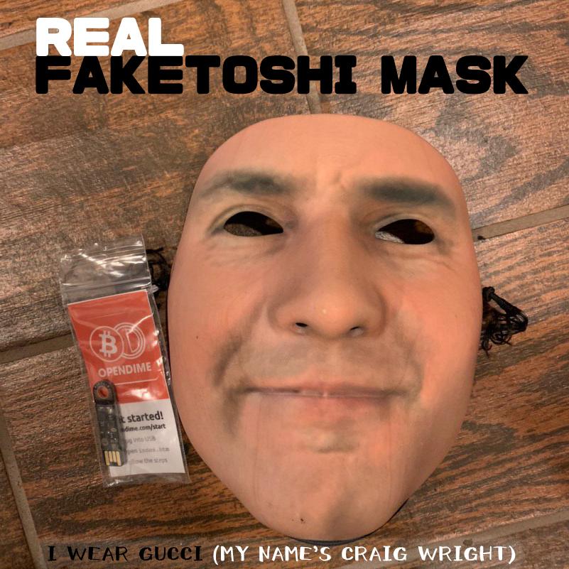 Freeport - REAL FAKETOSHI MASK
