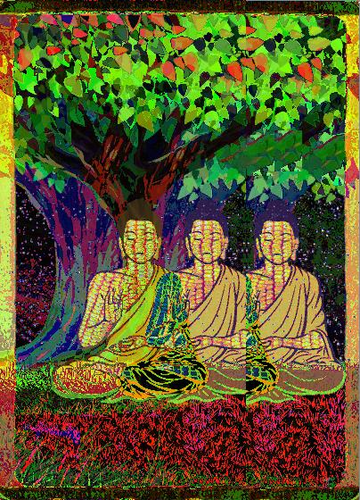 Kaleidoscope - TRIPLEBUDDHA