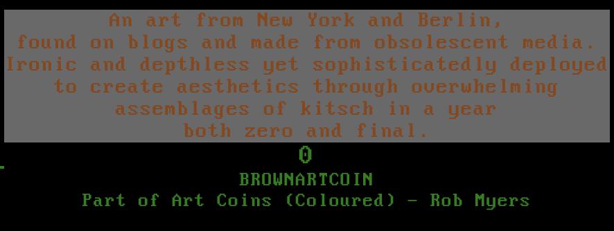 Kaleidoscope - BROWNARTCOIN