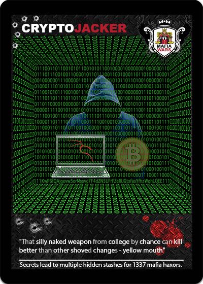 MafiaWars - CRYPTOJACKER