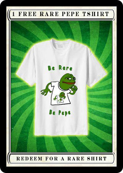 Rare Pepe - PEPETSHIRT