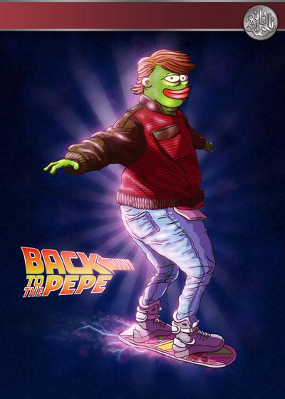 Rare Pepe - BACKTOPEPE