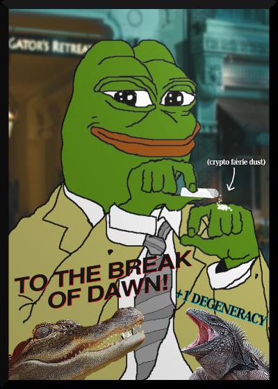 Rare Pepe - BADLTPEPE
