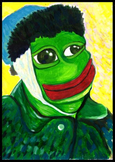 Rare Pepe - BANDAGEDPEPE