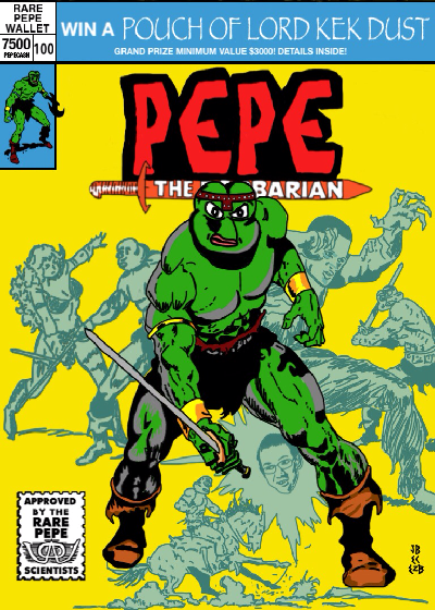 Rare Pepe - BARBARICPEPE