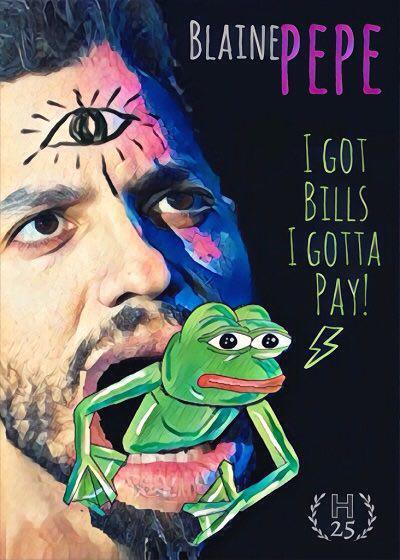 Rare Pepe - BLAINEPEPE