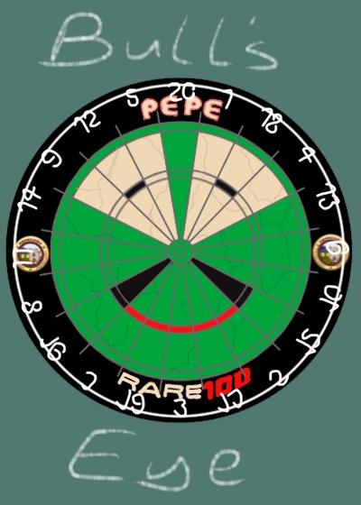 Rare Pepe - BULLSEYEPEPE