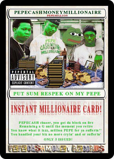 Rare Pepe - PEPEMILLION