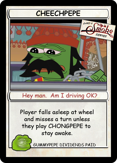 Rare Pepe - CHEECHPEPE