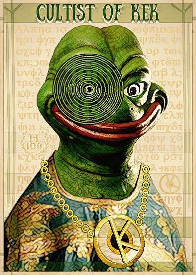 Rare Pepe - CULTOFKEK