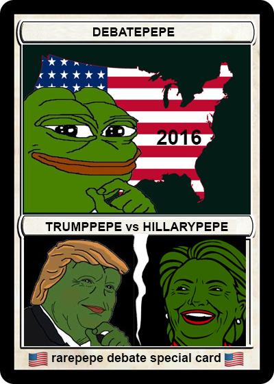 Rare Pepe - DEBATEPEPE