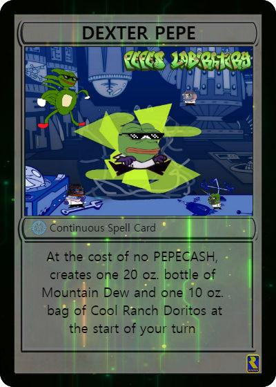 Rare Pepe - DEXTERPEPE
