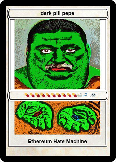 Rare Pepe - DARKPILLPEPE