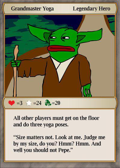 Rare Pepe - GRNDMSTRPEPE