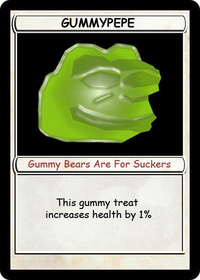 Rare Pepe - GUMMYPEPE