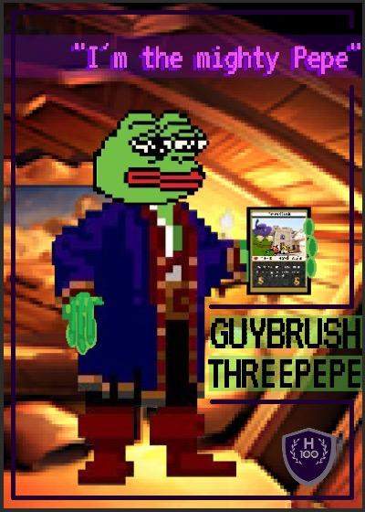 Rare Pepe - GUYBRUSH