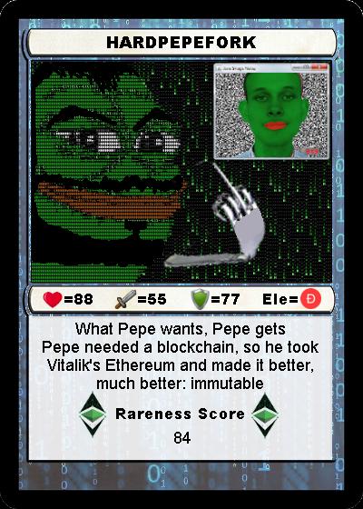 Rare Pepe - HARDPEPEFORK