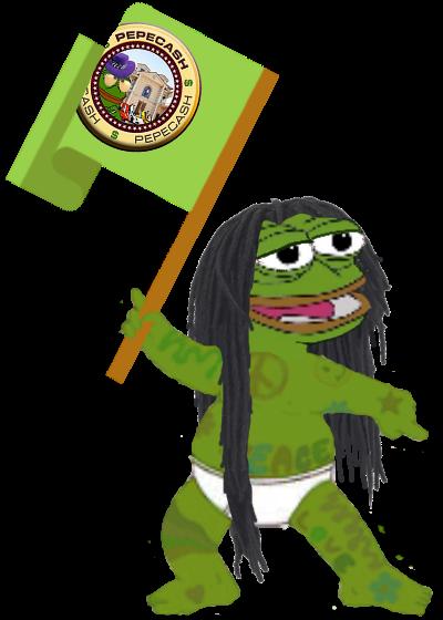 Rare Pepe - HIPPIEPEPE