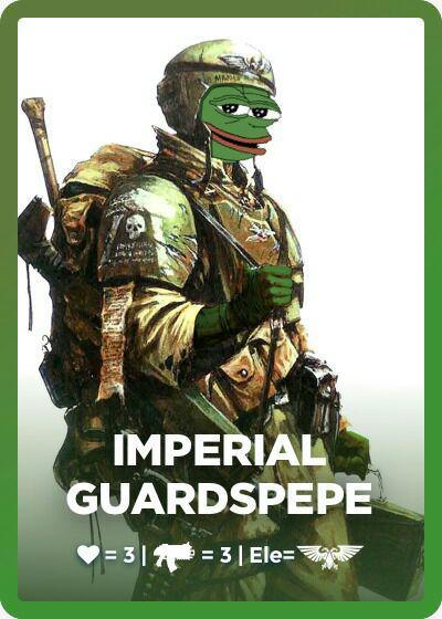 Rare Pepe - GUARDSPEPE