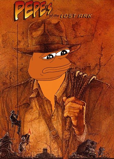 Rare Pepe - INDIANAPEPE