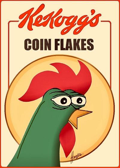 Rare Pepe - KEKOGGS