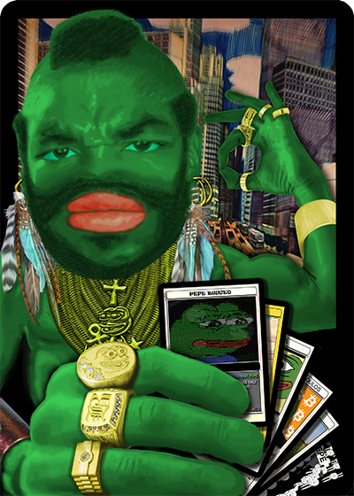 Rare Pepe - MRTALPHA