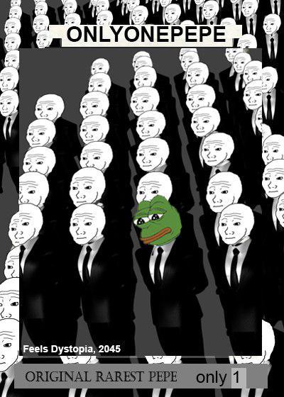 Rare Pepe - ONLYONEPEPE