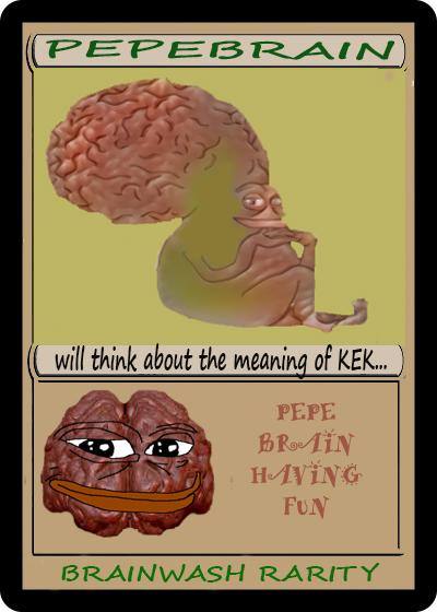 Rare Pepe - PEPEBRAIN