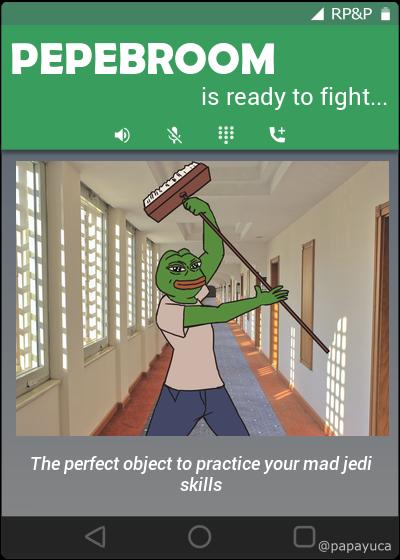Rare Pepe - PEPEBROOM