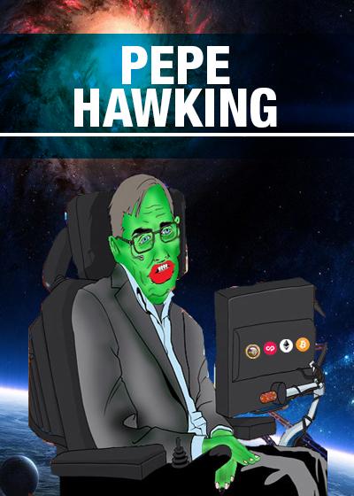Rare Pepe - PEPEHAWKING