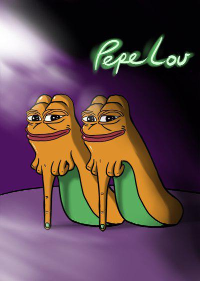 Rare Pepe - PEPELOU