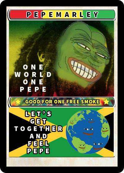 Rare Pepe - PEPEMARLEY