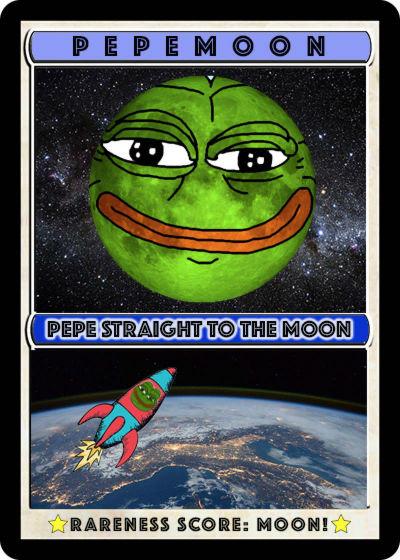 Rare Pepe - PEPEMOON