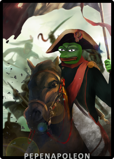 Rare Pepe - PEPENAPOLEON