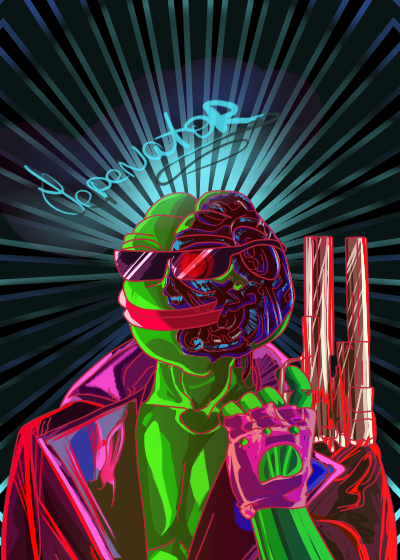 Rare Pepe - PEPENNATOR