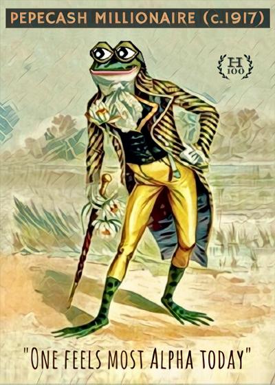 Rare Pepe - PEPEOLDCASH