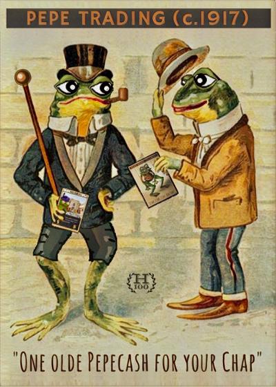 Rare Pepe - PEPEOLDTRADE